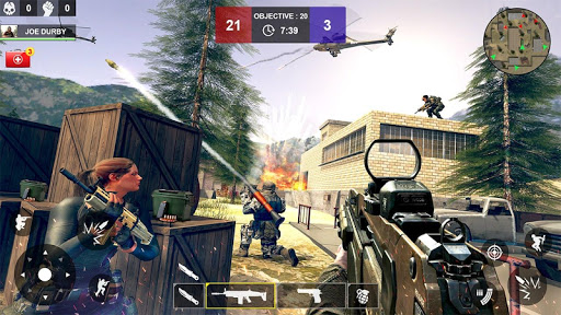 Counter Attack Shooting (CAS) - New FPS Strike apkmind screenshots 10