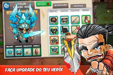 Tiny Gladiators APK + MOD DINHEIRO INFINITO para Android imagem 3