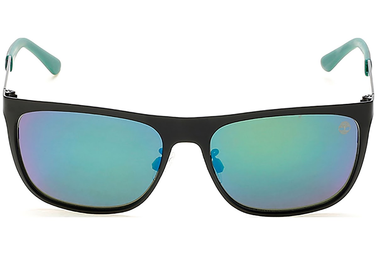 Buy Timberland TB9093 C57 02R (matte black green polarized
