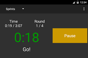 Screenshot of Round Timer