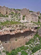 Photo: Rhodiapolis, Roman Bathhouse .......... Rhodiapolis, Romeinse Thermen
