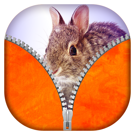 ウサギジッパー画面ロック 個人化 App LOGO-硬是要APP