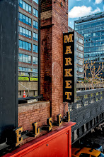 Photo: Another shot take from the High Line in New York. This shot shows a bit of Chelsea Market, looking back at the main section of the High Line.  #BreakfastClub curated by +Gemma Costa