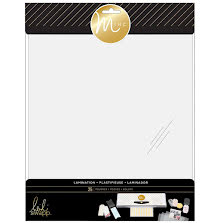 Heidi Swapp Minc Lamination Photo Pouches 9X11.5 25/Pkg - Plain UTGÅENDE