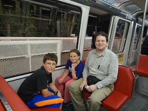 Photo: Our last adventure was a quick trip on the monorail