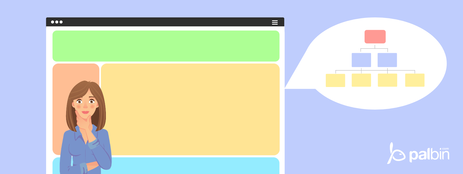 How to create a good structure on a web page