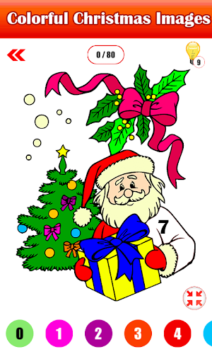 Indir Adult Christmas Color By Number Paint By Number Apk Son