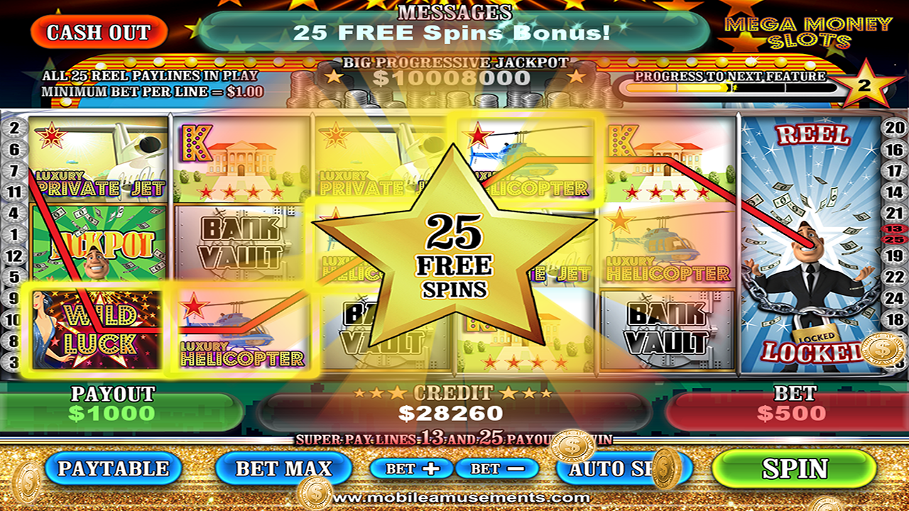 MEGA Money Vegas Slots FREE- screenshot