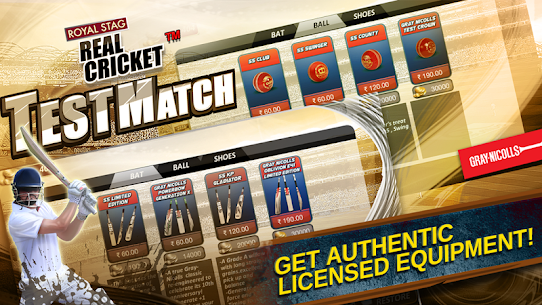 Real Cricket™ Test Match App Download For Android and iPhone 5