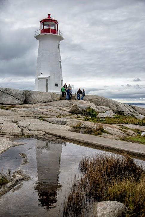 Peggy's Cove, Peggys Cove, latarnia morska, Nova Scotia, Nowa Szkocja, Kanada, Canada
