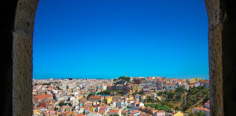 Uno sguardo dall'alto di Lisbona di bonimatteo