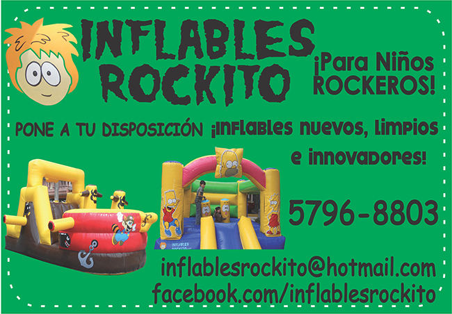 inflables roquito