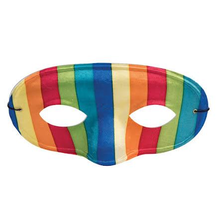 Ögonmask, regnbåge domino