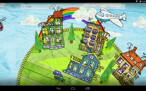 Paperland Season LiveWallpaper для планшетов на Android