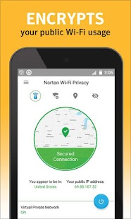 Norton WiFi Privacy Secure VPN- screenshot thumbnail