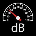 Sound Meter : SPL meter, dB meter, noise meter icon