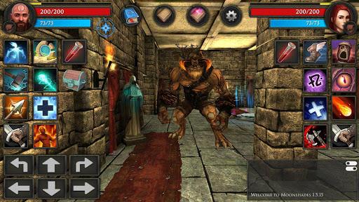 Moonshades: a dungeon crawler RPG game modavailable screenshots 9