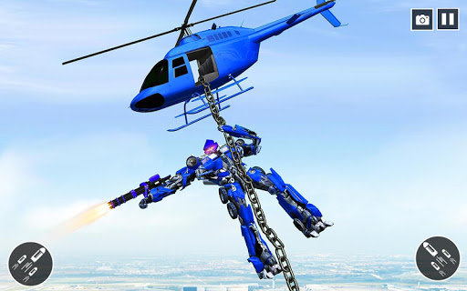 US Police Car Transform Robot War Rescue 2020  screenshots 9