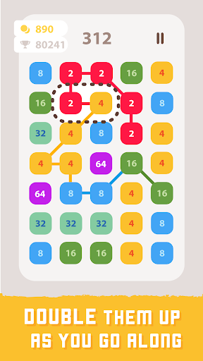 2248 Linked: Connect Dots & Pops - Number Blast screenshot 14