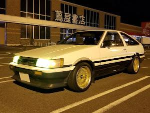 カローラレビン AE86 GT-APEXのカスタム事例画像 し〜のさんの2019年01月13日23:47の投稿