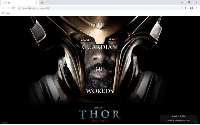 Heimdall New Tab & Wallpapers Collection