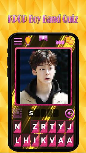 Kpop new boy band quiz : Guess superstar songpop 1.4 screenshots 3