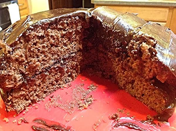 Easy Cake Mix Chocolate Cake