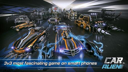 Car Alien - 3vs3 Battle screenshot 8