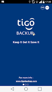 Tigo Backup screenshot 0