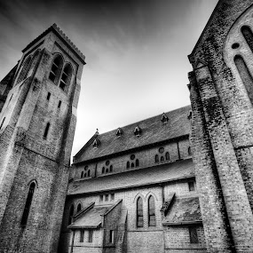 Lismore Uniting Church by Ben Heys - Buildings & Architecture Places of Worship ( scary, prayer, old, building, christian, god, church, spooky, brick, imposing, worship, religion, sky, acrhitecture, ancient, frightening, jesus, religious, brimstone )