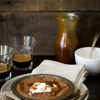 Baked Hot Chocolate Pudding