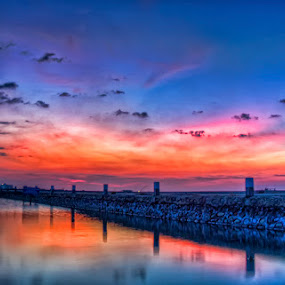 Titian Cakrawala by The-dee Syafta - Landscapes Sunsets & Sunrises