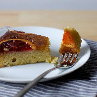 Almond, Ricotta, and Blood Orange Cake.