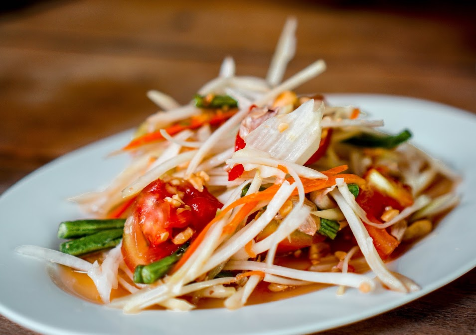 Som Tam Thai Papaya Salad