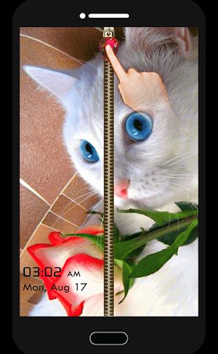 キティベラ猫の画面のロック
