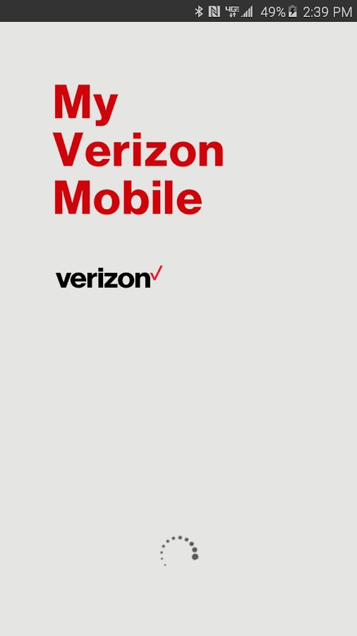My Verizon Mobile- screenshot
