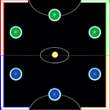 Air Hockey Glow In The Dark icon