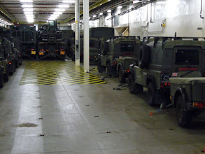Photo: Main vehicle garage