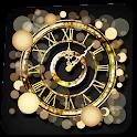 Gold Wallpaper Clock icon