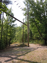 Photo: The High Ropes Course at Camp Toccoa.
