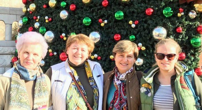 На Рождественской елке в Назарете. Лучший гид в Израиле - отзыв.