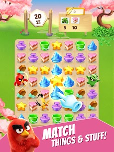 Angry Birds Match MOD (Unlimited Money) 6