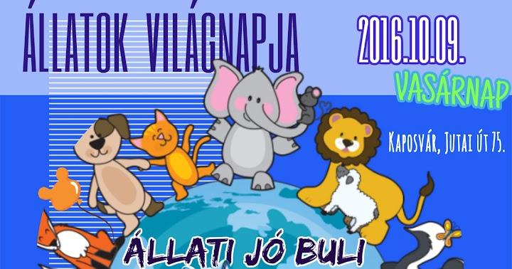 Állatok világnapja 2016.10.09.