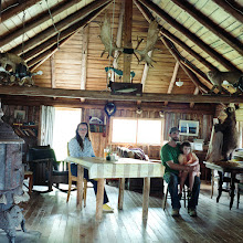 Photo: title: Eric Sterling, Mildred & Avis Kennedy-Stirling, Township A - Range 12, Maine date: 2012 relationship: friends, art, met through the Bakery Photo Collective years known: 0-5