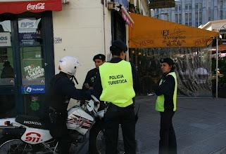 Photo: Uruguayssa on kuulemma turvallista - liekö sitten osaksi katukuvassa näkyvien turistipoliisien ansiota