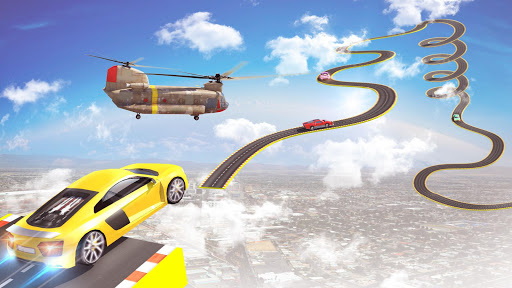 Mega Ramp Car Stunts Racing : Impossible Tracks 3D apklade screenshots 1