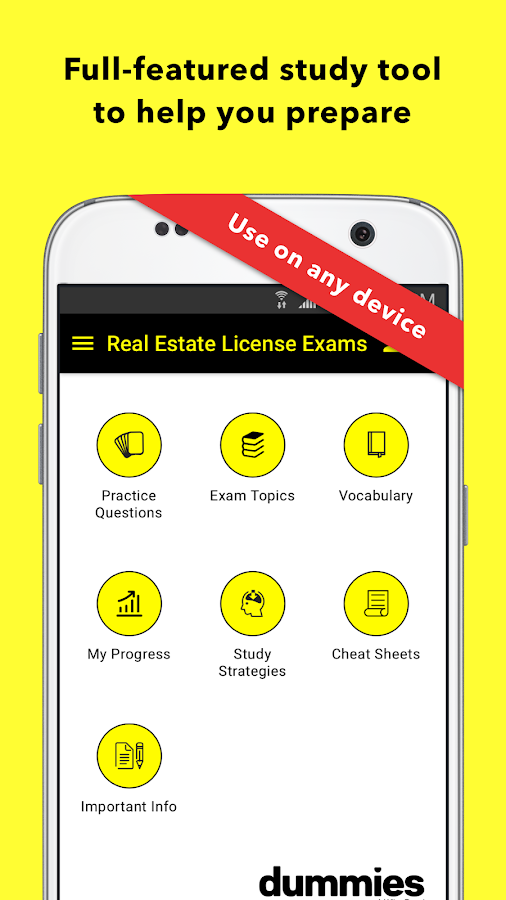 Real Estate Exam for Dummies- screenshot