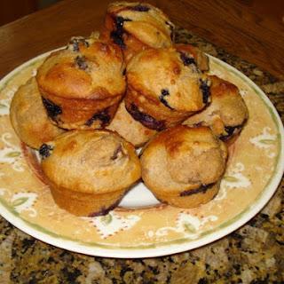 Fat-Free Lemon Berry Muffins.