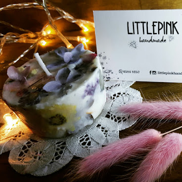 cupcake形純天然大豆香薰(洋金菊)蠟燭