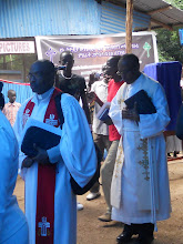 Photo: Rev Teferi Berkessa represented the Bethel Synods.